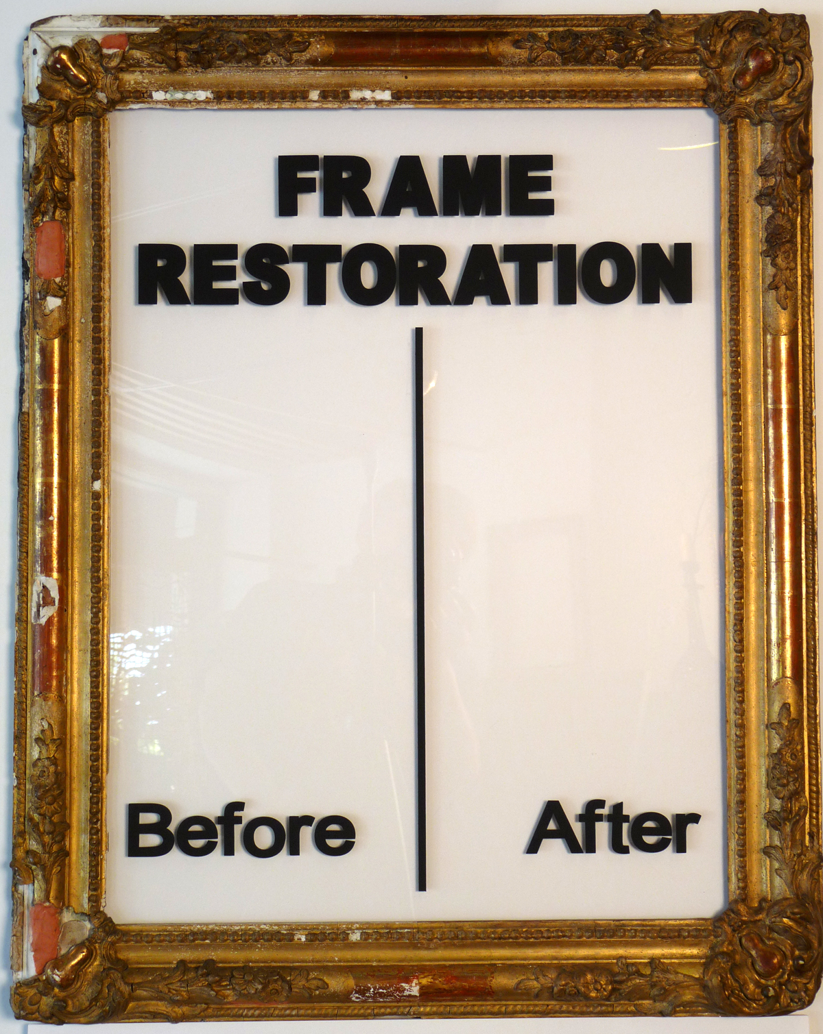 Frame restoration galleria scola custom framing antique jeuxipadfo Image collections